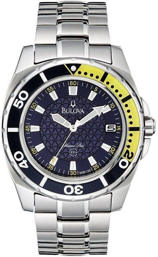 Bulova Marine Star 96B126 Mens Watch