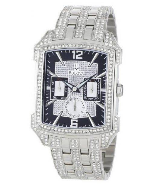 Bulova Crystal 96C108 Mens Watch