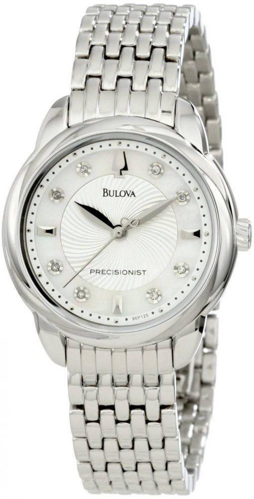 Bulova Precisionist Brightwater Crystal 96P125 Womens Watch