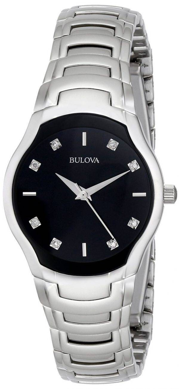 Bulova Diamond Accented Dial 96P146 Womens Watch