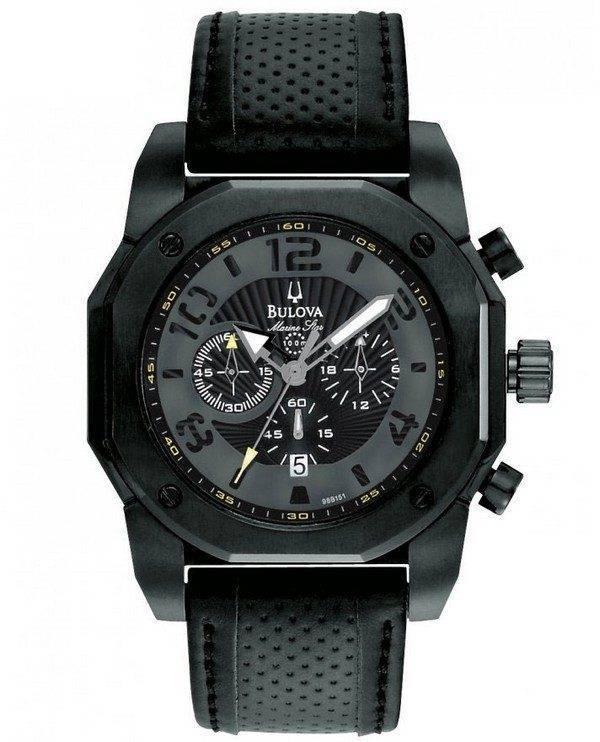 Bulova Marine Star 98B151 Mens Watch