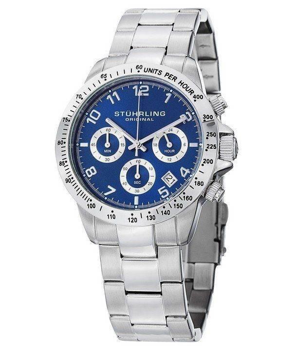 Stuhrling Original Concorso Quartz Chronograph 665B.02 Mens Watch