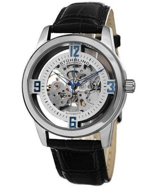 Stuhrling Original Winchester Automatic Skeleton Dial 877.01 Mens Watch
