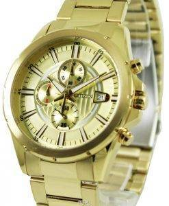 Montre Citizen Chronograph Gold Tone AN3562 - 56p masculine