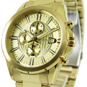 Montre Citizen Chronograph Gold Tone AN3562 - 56p masculine