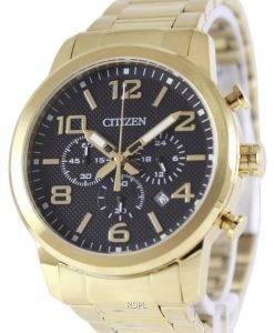 Montre Citizen Chronograph Gold Tone AN8052-55E masculine