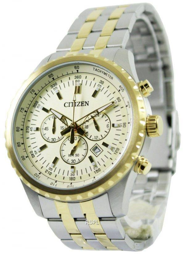 Montre chronographe à Quartz Citizen AN8064 - 56p masculine