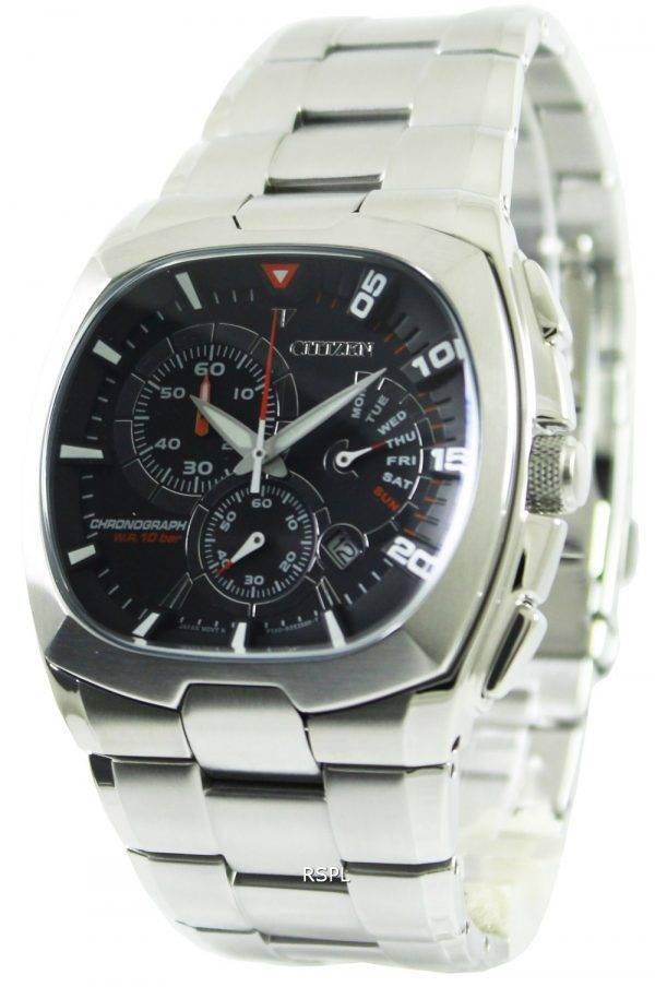 Citizen Quartz chronographe rétrograde AN9000-53F montre homme