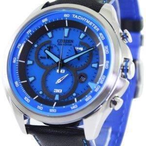 WDR Citizen Eco-Drive chronographe tachymètre AT2180 - 00L montre homme