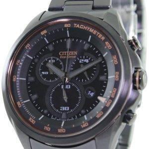 WDR Citizen Eco-Drive chronographe tachymètre AT2187-51E montre homme