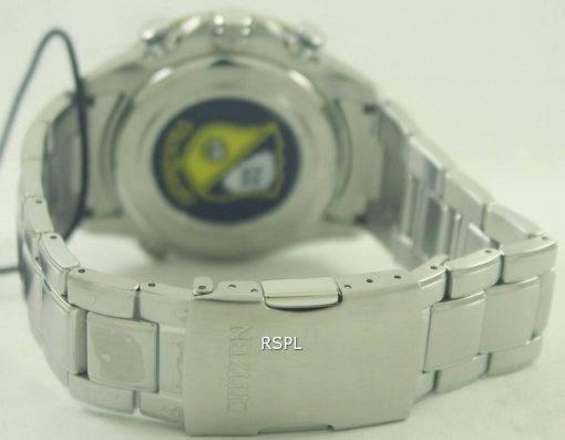 Citizen Eco Blue Angels radiocommandés World Chronograph AT8020 - 54 L