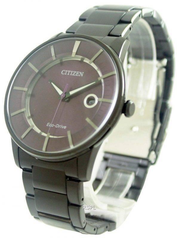 Citizen Eco-Drive Purple Dial AW1264-59W Mens Watch