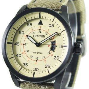 Montre Citizen Eco-Drive Aviator Power Reserve AW1365 - 19p masculine