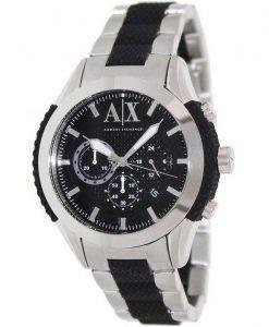Armani Exchange Chronograph Black Dial AX1214 Mens Watch