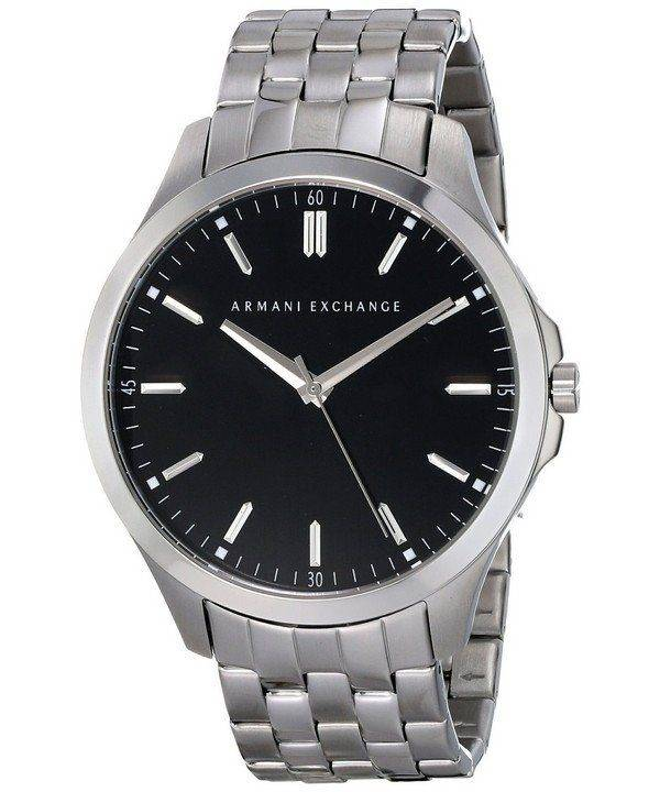 Armani Exchange Black Dial Stainless Steel AX2147 Mens Watch