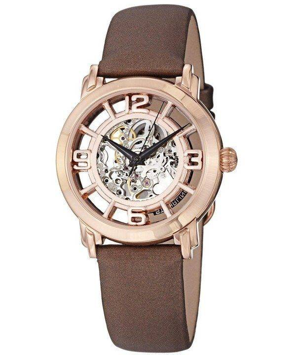 Stuhrling Original Winchester Automatic Skeleton Dial 156.124T14 Womens Watch
