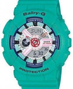Casio Baby-G Analog Digital BA-110SN-3A Women's Watch