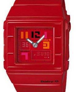 Casio Baby-G alarme rouge World Time BGA-200PD-4 b Womens Watch