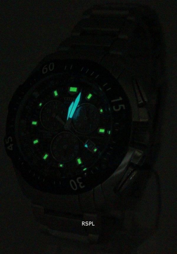 Citizen Chronograph Eco Drive Calendar Alarm Perpetual BL5314-52E Mens Watch
