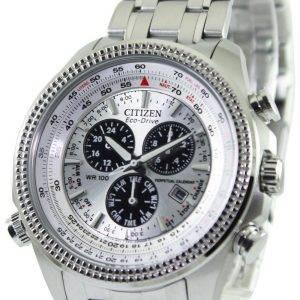 Citizen Eco-Drive quantième perpétuel chronographe BL5400-52 a montre homme