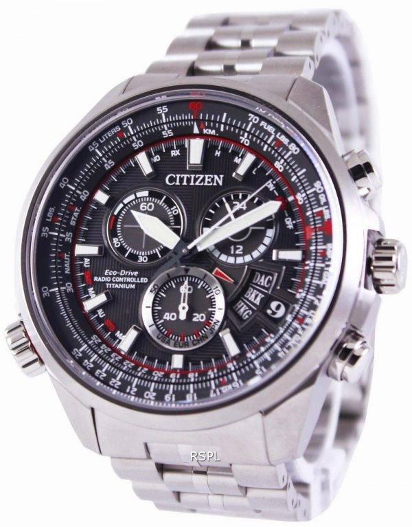 Citizen Eco-Drive Radio Controlled Titanium BY0120-54E Mens Watch