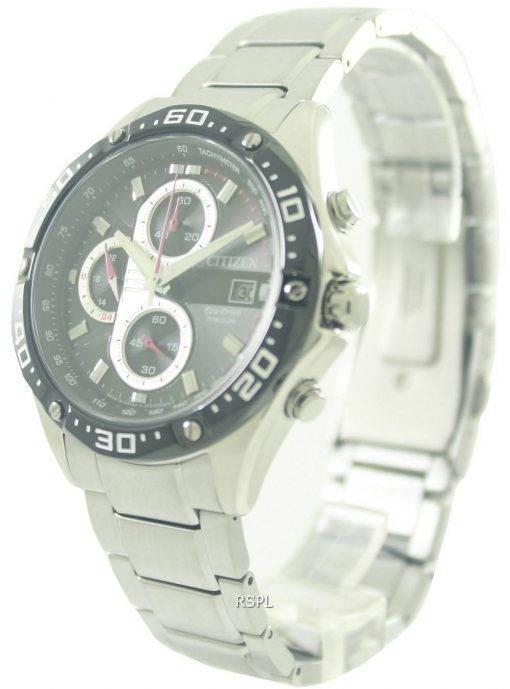Citizen Eco-Drive Chronograph Titanium Sports CA0030-52E Mens Watch