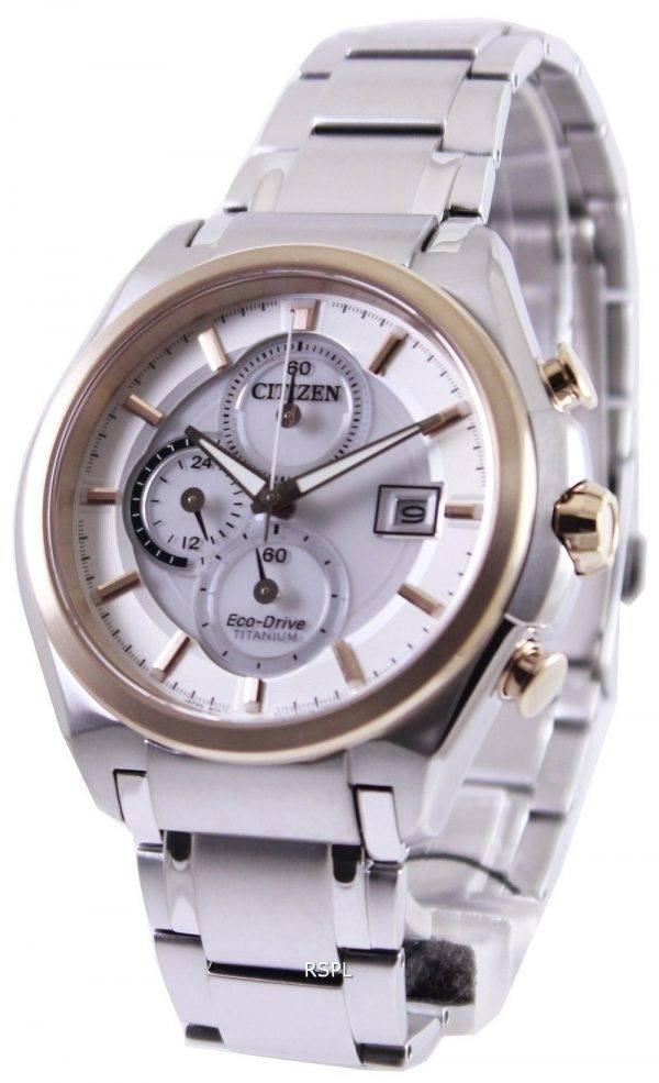 Citizen Eco Drive Super titane Chronogrpah CA0354-51 a