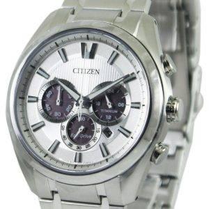 Citizen Eco-Drive Titanium Chronograph CA4010-58 a