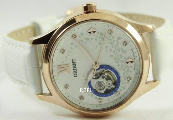 Orient Happy Stream Collection Blue Moon Open Heart DB0A008W Womens Watch