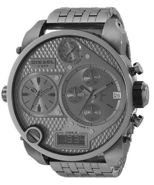Montre diesel Chronograph gris Multi affichage Ana-Digi DZ7247 hommes cadran