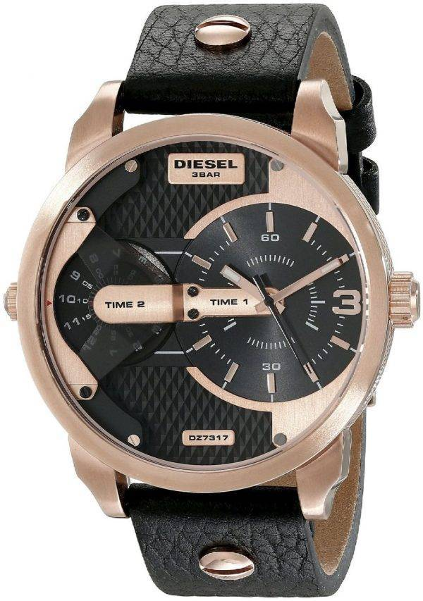 Diesel Mini Daddy Dual Time DZ7317 Mens Watch