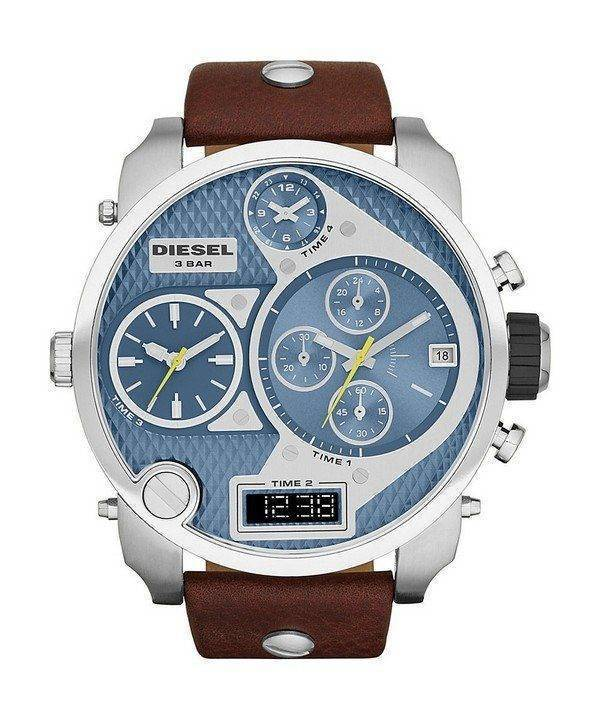 Diesel Mr. Daddy Chronograph Blue Dial DZ7322 Mens Watch