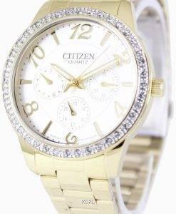 Citizen Quartz Swarovski Crystals ED8122-59A Womens Watch