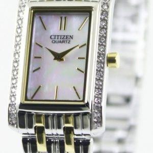 Montre Citizen Quartz cristaux de Swarovski EK1124 - 54D féminin