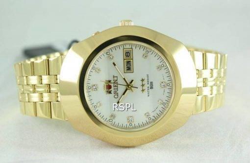 Orient 3 étoiles EM70004W Mens Watch