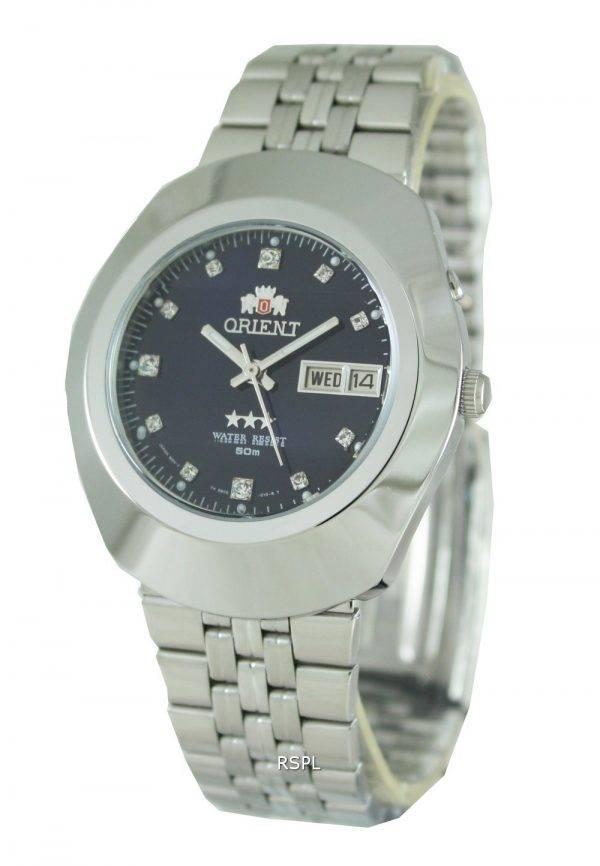 Orient 3 étoiles EM70005D Mens Watch
