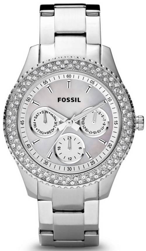 Fossil Stella Multifunction Crystals ES2860 Womens Watch