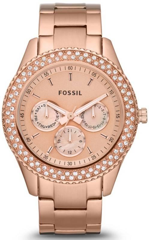 Fossil Stella Multifunction Crystals ES3003 Womens Watch