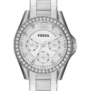 Fossile Riley Crystal multifonction ES3202 Women Watch Dial