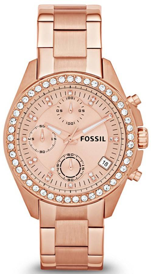 Fossil Decker Chronograph Crystal ES3352 Womens Watch