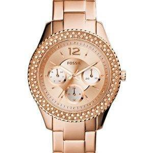 Fossil Stella multifonction ES3590 Crystal Accents Women Watch