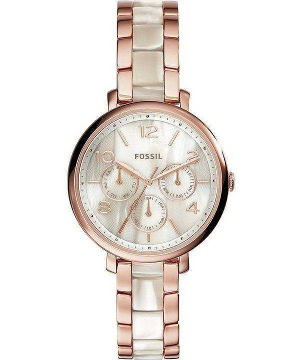 Fossil Jacqueline Multifunction Chronograph Stainless Steel ES3921 Womens Watch
