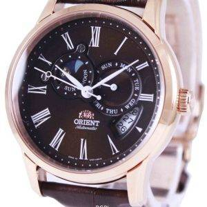 Orient Automatic Sun And Moon ET0T003T Mens Watch