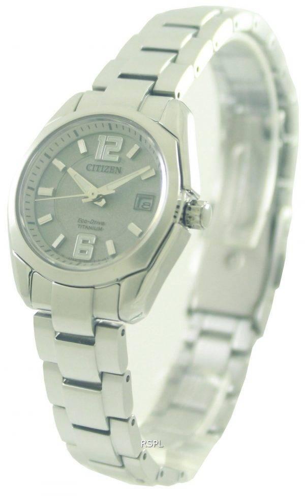 Citizen Eco-Drive Titanium EW2101-59A Ladies Watch