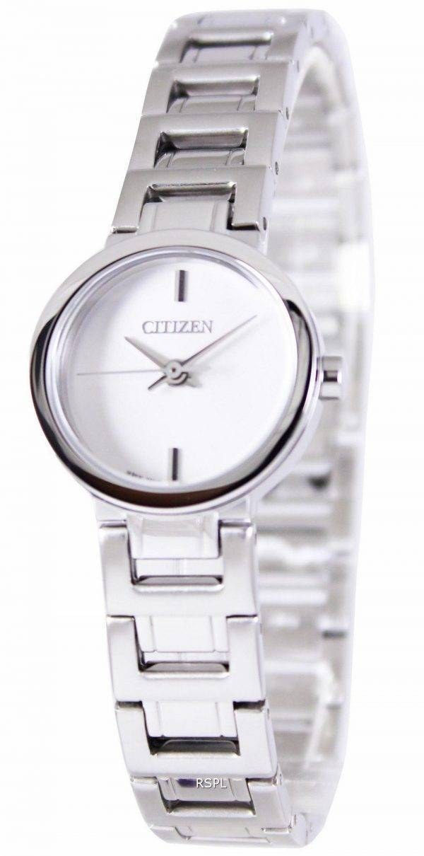 Citizen Analogue Quartz White Dial EX0330-56A Womens Watch