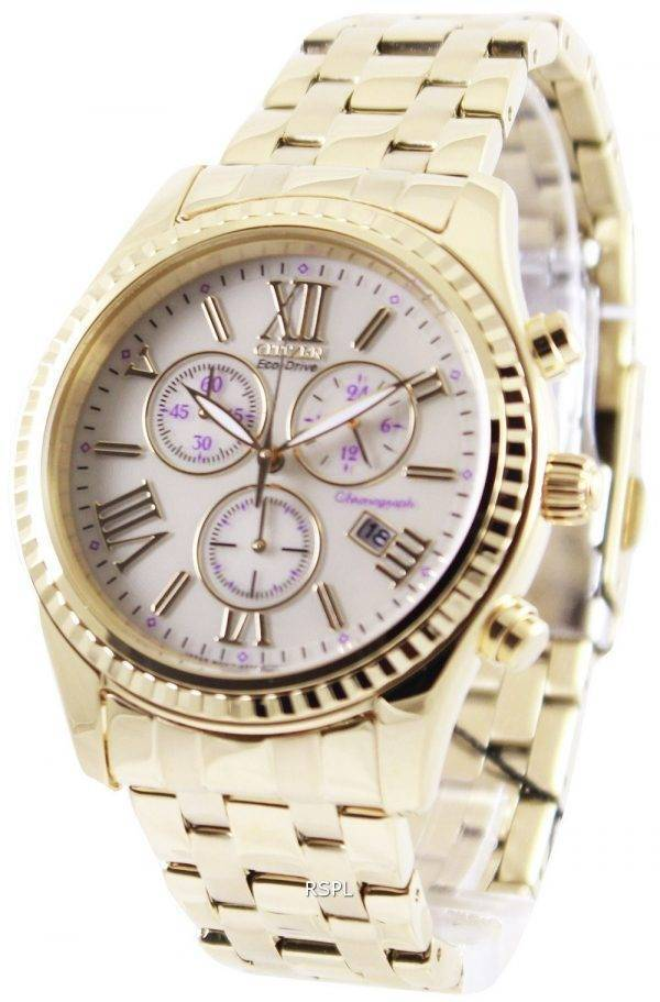 Montre chronographe Citizen Eco-Drive AML FB1362 - 59p féminin