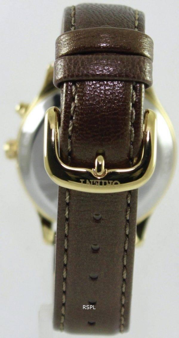Orienter la fée mécanique heureux Stream Collection FDM01005SL DM01005S Women Watch