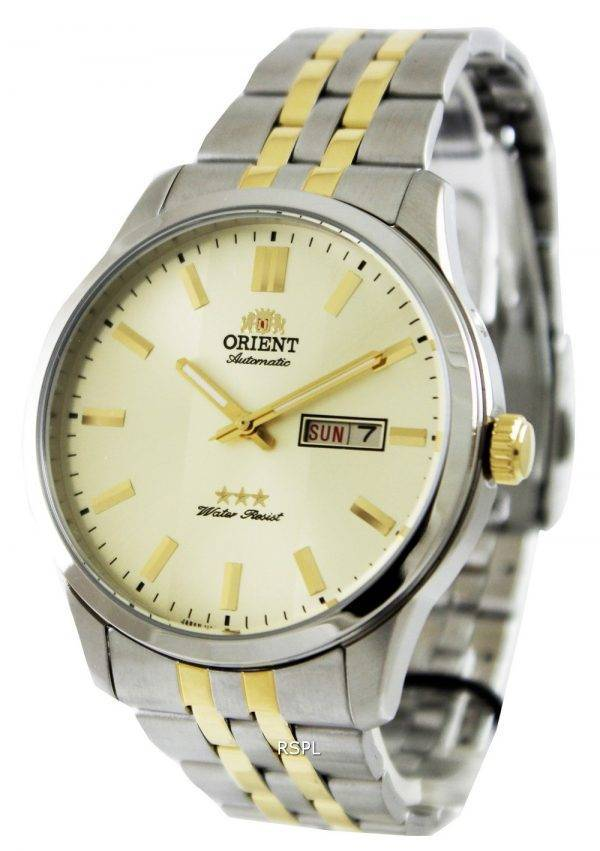Orient Automatic Three Star FEM7P00CC Mens Watch