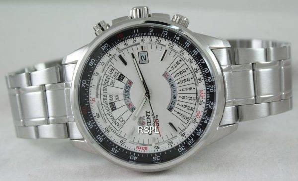 Orienter un calendrier automatique urbain FEU07005WX Mens Watch