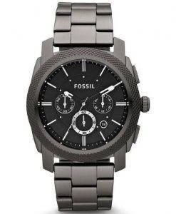 Machine fossile Chronograph IP fumé inox FS4662 montre homme